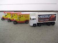 Three Lledo Shredded Wheat Toy Vans - £3.00 each