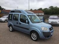 Fiat Doblo 1.4 Petrol 2006 wheelchair adapted vehicle