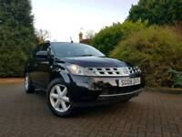 NISSAN MURANO AUTOMATIC,,12 MONTH MOT,,LOW MILEAGE 65K((BARGAIN))