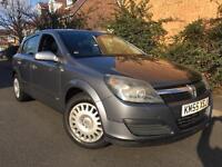 2005 (55) Vauxhall Astra 1.6 I 16v Life Twinport LOW MILEAGE 55K 1F Keeper GOOD SPEC Ideal First Car
