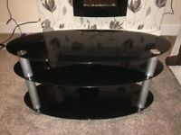 Glass tv stand up to 50 inch