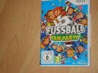 Wii -Spiel- Fußball Fan Party Kreis Pinneberg - Tornesch Vorschau