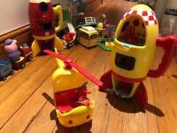 Peppa pig toys - free