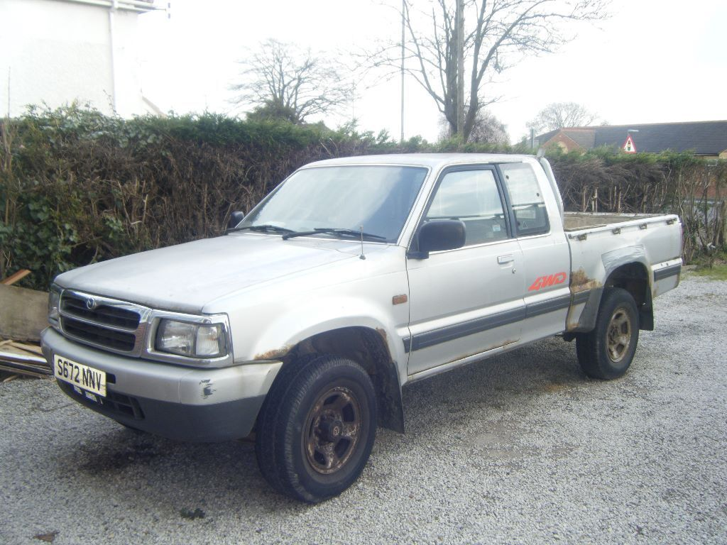 mazda b2500 4wd pick up silver in enderby leicestershire gumtree. Black Bedroom Furniture Sets. Home Design Ideas