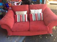 2x Two Seater Settees For Sale