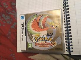 Pokemon heart gold Nintendo Ds game
