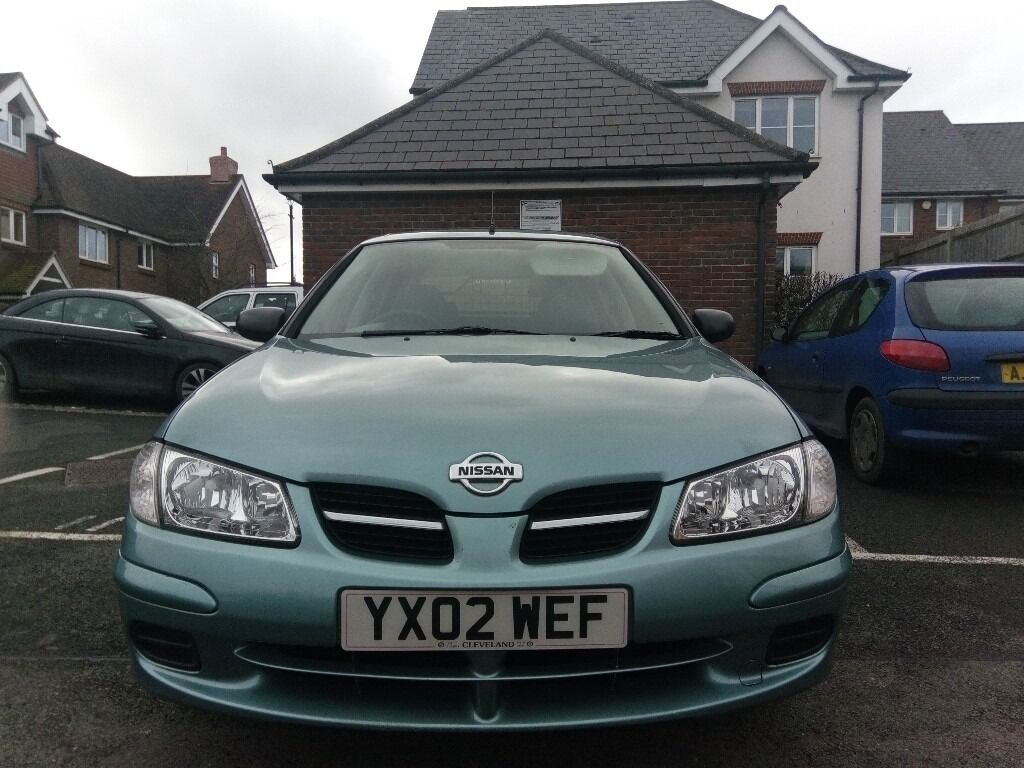 lovely nissan almera 2002 1 5 petrol in very good condition cheap family car in haywards. Black Bedroom Furniture Sets. Home Design Ideas