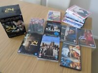 DVD box set of the series 24 and various others for sale  Southampton, Hampshire