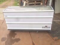 Commercial Chest freezer Open Glass only one year old