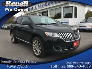 2011 Lincoln MKX AWD   Moon  Leather  Nav