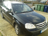 Chevrolet Lacetti 1.6 estate 5dr, Mot, FSH