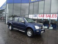 2006 06 ISUZU RODEO 3.0 DENVER MAX TD 4X4 D/C 1D AUTO 131 BHP **** GUARANTEED FINANCE ****