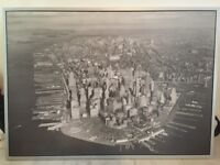 Framed print of Manhattan