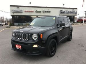 2015 Jeep Renegade Sport-Power Conveniences, a/c, Cruise $85 Wee
