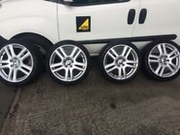 ALLOY WHEEL WITH TYRE 225/40/18 , 5x108