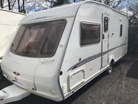 Swift challenger 500 fixed bed with motor mover touring caravan