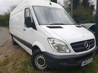 No VAT 2013 Mercedes Benz Sprinter 313 CDI LWB Hi Top not VW Crafter not Iveco Daily