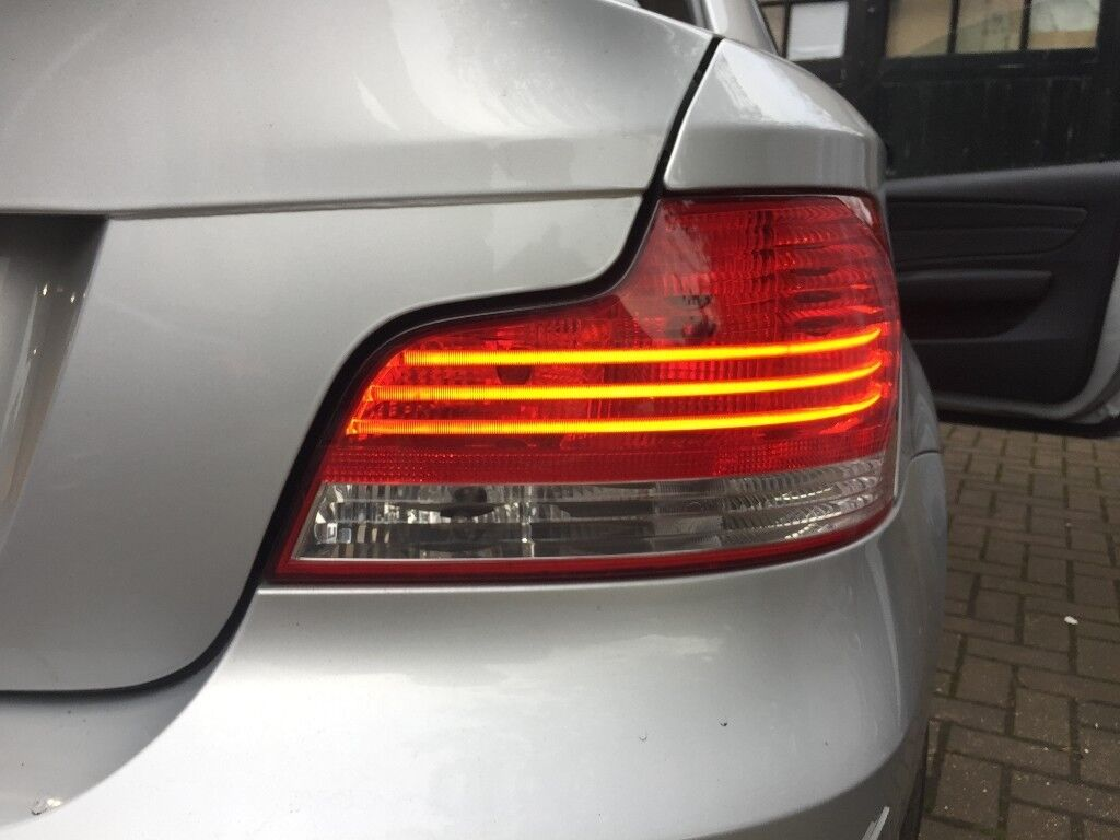 BMW 1 SERIES E82/E88 LED 3 STRIPE REAR TAIL LIGHT LEFT AND RIGHT ...