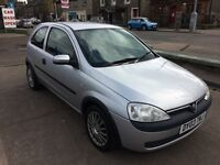 2003 VAUXHALL CORSA CLUB 1.0cc---EXCELLENT CONDITION---ONE YEAR MOT---LOW MILEAGE---SERVICE HISTORY