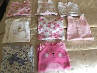 Baby girl bundle (newborn, first size, up to 1 month)