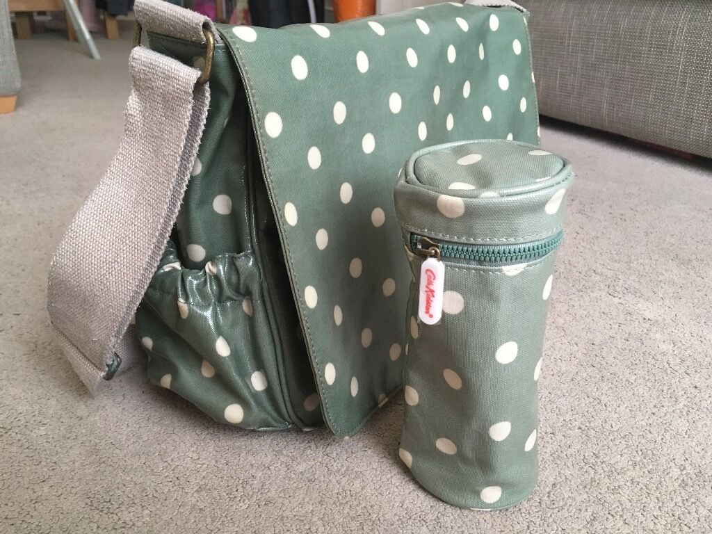 Cath Kidston changing bagin Hove, East SussexGumtree - Funky changing bag with mat, wipe clean, good condition. Bottle holder is brand new