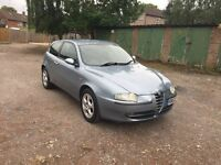 ALFA ROMEO 147 1.6 T/SPARK * 106,000 MILES, FULL SERVICE HISTORY, FULLY LOADED* (BARGAIN)