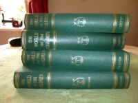 The World of The Children. Set of four volumes.
