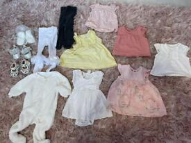 0-3 baby girls bundle