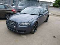 Grey Audi A3 1.9 TDI, 55 plate, valid tax and MOT