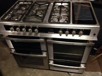 Beko range gas cooker and electric oven 100cm