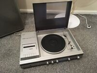 vintage ultra rare phillips 1131 music system with turntable