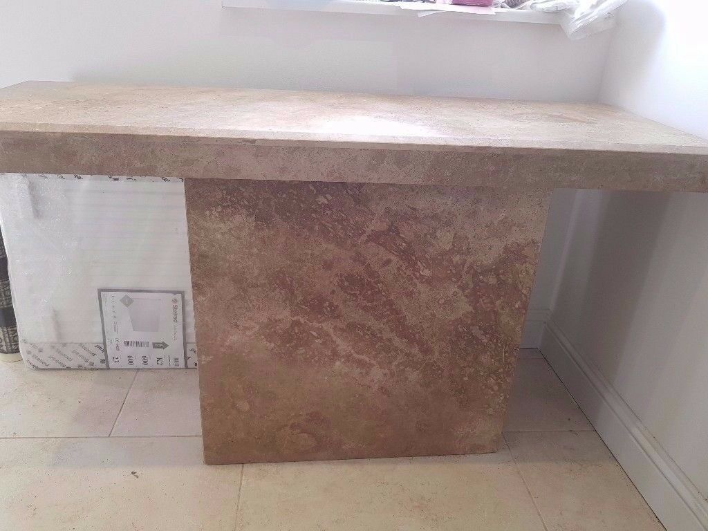Gorgeous Marble Side Console Table