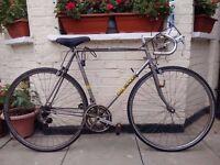 Vintage Eddy Mercx super prestige racer bike
