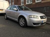 Audi A3 1.6 Petrol 2004 - 3dr - MOT&TAX - drives mint - not c4 golf focus megane civic polo 307 207