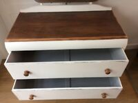 Vintage Art Deco Style Dressing Table/Chest of Drawers