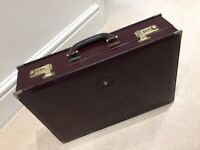 Calf Leather Bally Briefcase