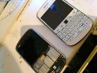 (Two Blackberry 9900 Bold