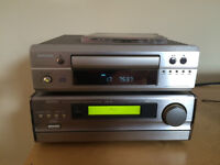 Denon receiver and sepererate CD player with Mordaunt Short Ms10 Speakers.
