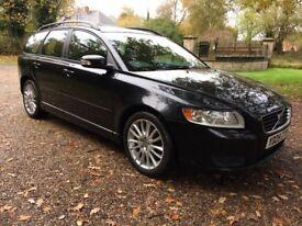 Volvo V50 SE D 2.0 Diesel Automatic Estate (2009/FSH/Full MOT)