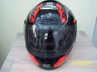 motor cylce helmet xs will suit youth only worn twice