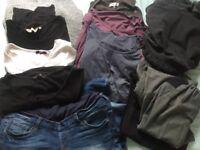 Maternity clothes bundle size 8-10