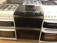 Zanussi 60cm gas cooker (double oven)