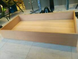 Underbed drawer on rollers Habitat