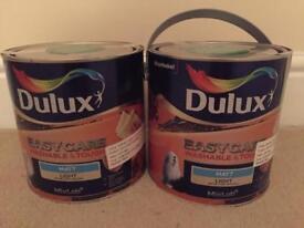 Nutmeg Cluster Dulux Easy Care paint 2.5litre x2 £25