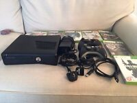 XBOX 360 + 2 Controllers and 7 Games all in excellent working condition