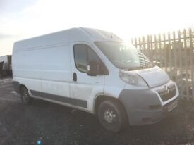 Citroen relay jumbo lwb 2008 spare parts available front rear bumpers bonnet wing light door wheel