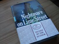 Book - Nightmare on Lime Street SIGNED BY AUTHOR Cathy Gunn. Whatever happened to Lloyds of London