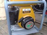 generator petrol 240volt 110 volt great working order 3kva 2.4 kw robin