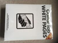 Brand new Guitar Tab White Pages