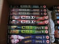 CSI DVD's various episodes Season 1 to Season 8 - 18 DVD's in total